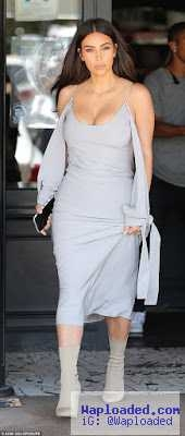 Kim Kardashian steps out looking sexy for lunch date with Scott Disick
